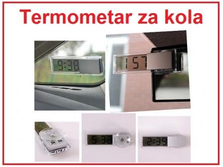 Digitalni termometar za kola -20°C do +110°C