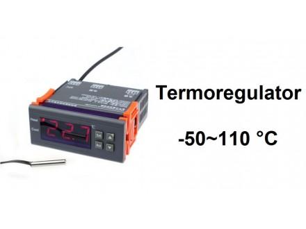 Digitalni termostat -50 do +110 °C - termoregulator