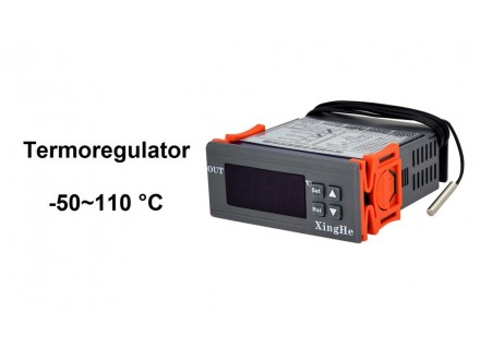 Digitalni termostat -50 do +110 °C - termoregulator