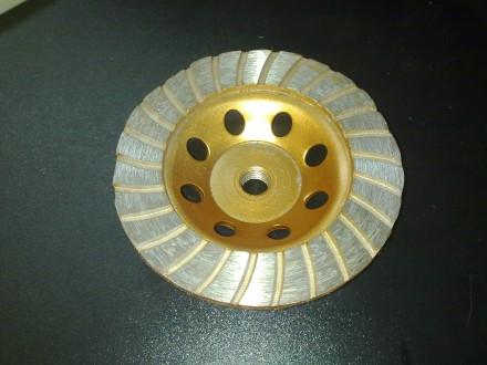 Dijamantska brusna ploca za teraco 115 mm