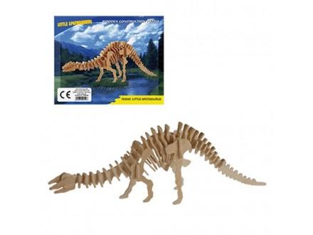 Dino Drvena Slagalica - Little Apatosaurus
