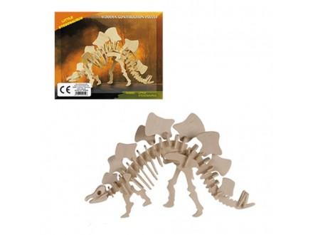 Dino Drvena Slagalica - Little Stegosaurus