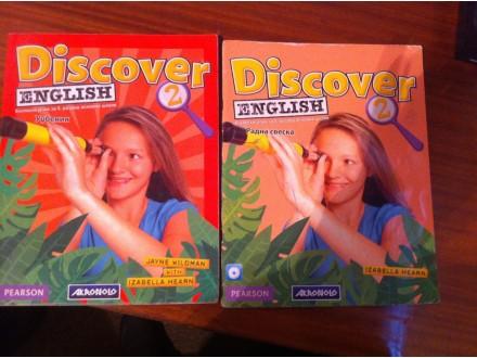 Discover English 2 knjiga + radna sveska