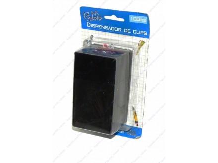 Dispenzer za spajalice + BESPL DOST. ZA 3 ART.
