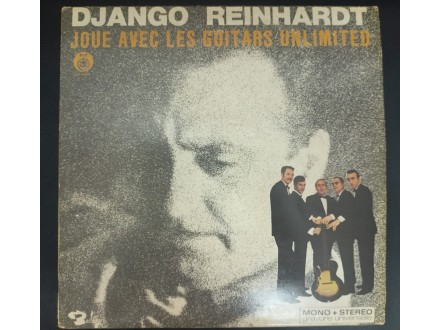 Django Reinhardt Joue Avec Les GuitarsUnlimitedLP(MINT)