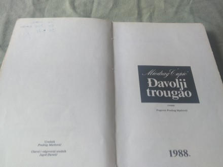 Đavolji trougao - Miodrag Ćupić