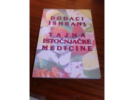 Dodaci ishrani tajna istočnjačke medicine