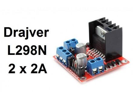Drajver step motora 2A L298N za CNC