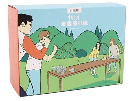 Drinking game - Eureca Man vs Lady