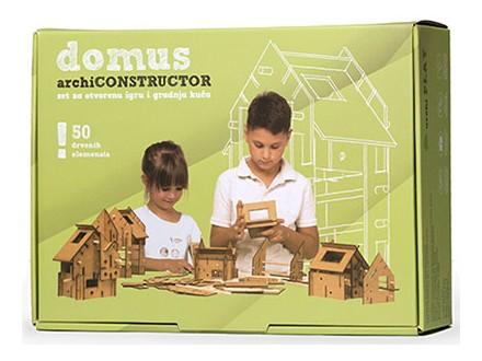Društvena igra - ArchiPLAY, Domus Archi Constructor