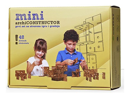 Društvena igra - ArchiPLAY, Mini Archi Constructor