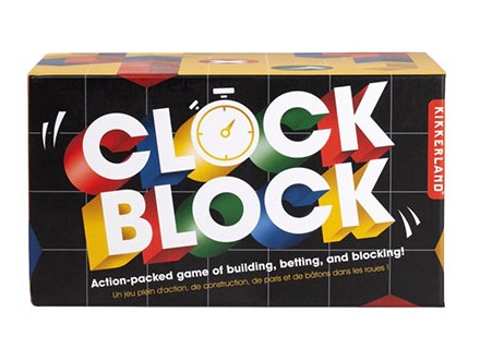 Društvena igra - Clock Block