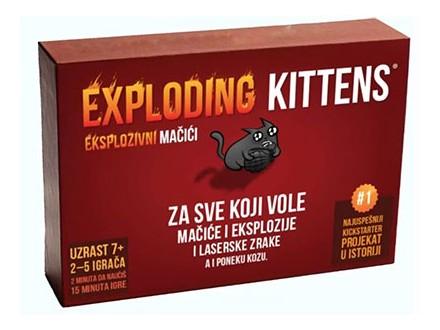 Društvena igra - Ekplozivni mačići
