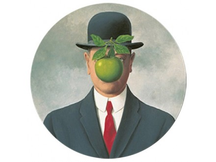 Držač papira - Magritte, fils de l`homme