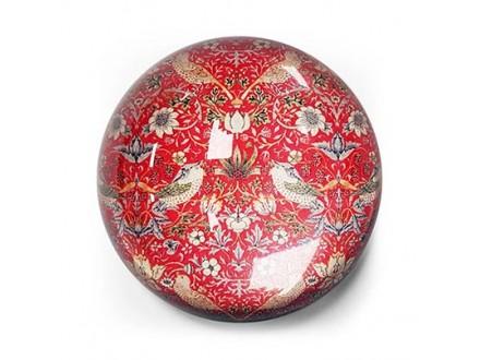 Držač papira - William Morris, Strawberry Thief, Red