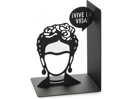 Držač za knjige - Frida, Black - Oscar Torrent