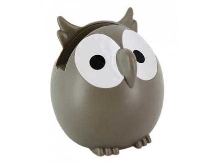 Držač za naočare - Owl, Grey - Sur mon bureau