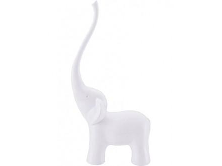 Držač za prstenje - Elephant, White - Balvi