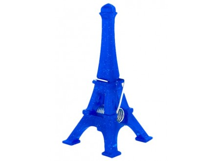 Držač za sliku - Eiffel Tower, Dark Blue - Sur mon bureau