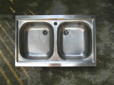 Dvodelna sudopera (inox)