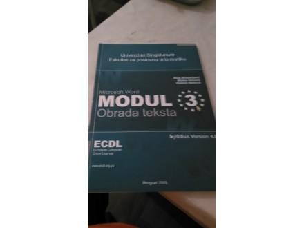 ECDL modul 3 obrada teksta - Milosavljević Veinović