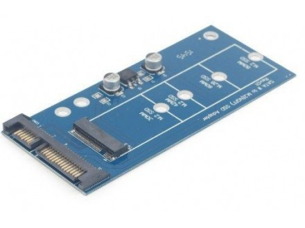 EE18-M2S3PCB-01 M.2 (NGFF) to Micro SATA 1.8` SSD adapter card