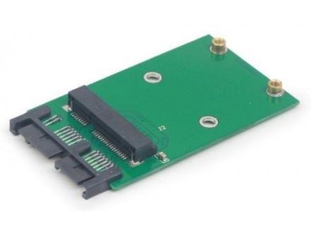 EE18-MS3PCB-01 Mini SATA 3.0 to Micro SATA 1.8` SSD adapter card