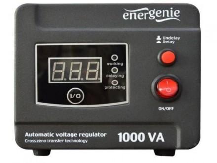 EG-AVR-D1000-01 Gembird Automatic voltage regulator and stabilizer `Digital Series`, 1000VA (600W)