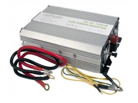 EG-PWC-035 Gembird 12V Auto inverter DC/AC 1200W+USB port