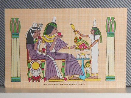 EGIPAT- HIERROGLYPHIC POSTCARS -SET 1..10  (III-103)