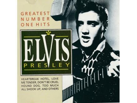 ELVIS PRESLEY - Greatest Number One Hits