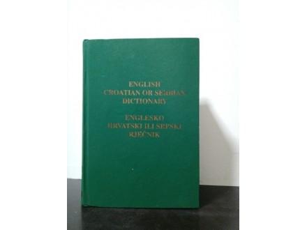 ENGLISH CROATIAN OR SERBIAN DICTIONARY Englesko hrvatsk