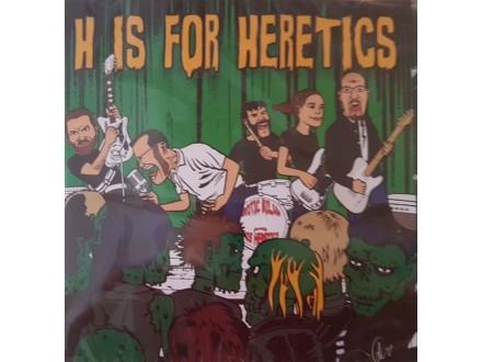 EROTIC BILJAN - H IS FOR HERETICS - CD