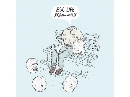 ESC Life ‎– Born to Be Mild (Silver LP)