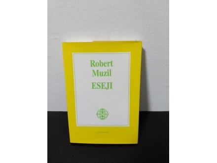 ESEJI, ROBERT MUZIL Novo