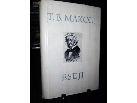ESEJI - Tomas Babington Makoli