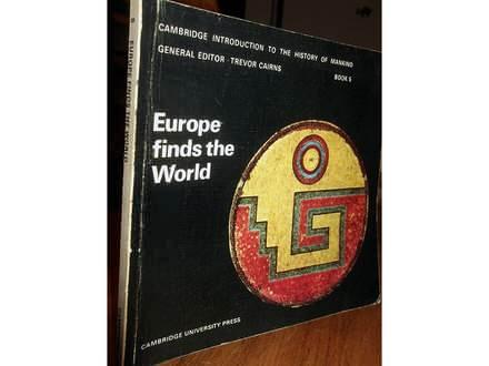 EUROPE FINDS THE WORLD - Trevor Cairns