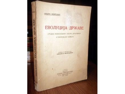 EVOLUCIJA DRŽAVE - Andrej Korteanu (1935)