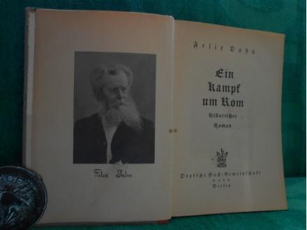 Ein Kampf um Rom I.-II.,Felix Dahn 1876.g