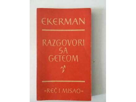 Ekerman - Razgovori sa Geteom
