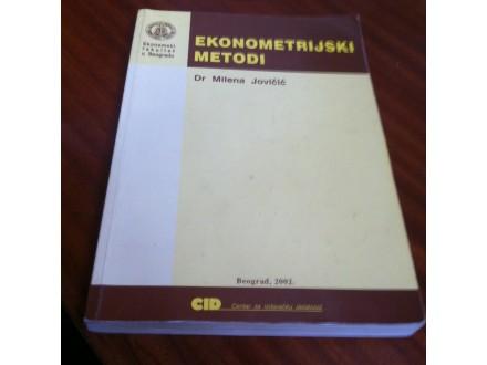 Ekonometrijski metodi Milena Jovičić
