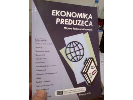 Ekonomika preduzeća - Mirjana Ratković-Abramović