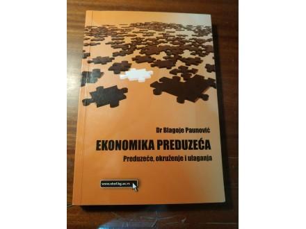 Ekonomika preduzeća Paunović
