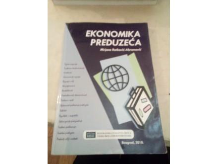 Ekonomika preduzeća - Ratković-Abramović