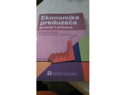 Ekonomika preduzeća principi i primena - Kisić Perović