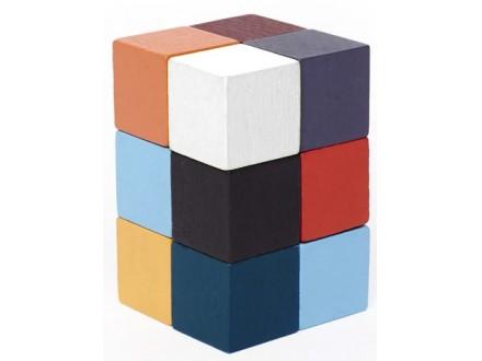 Elastic Cube 3D Wooden Puzzle