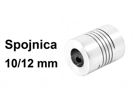 Elasticna spojnica za motor - 10/12 mm