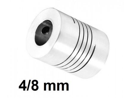 Elasticna spojnica za motor - 4/8 mm