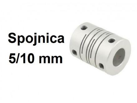Elasticna spojnica za motor - 5/10 mm