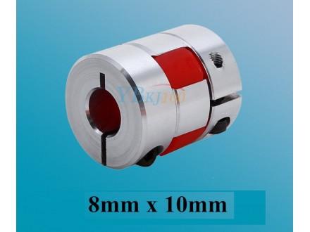 Elasticna spojnica za motor - 8/10 mm - Ojacana